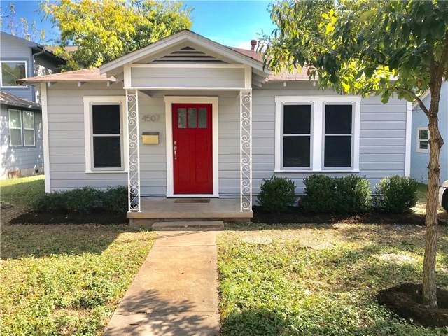 4507 Depew Ave, Austin, TX 78751 (#7869888) :: The Perry Henderson Group at Berkshire Hathaway Texas Realty