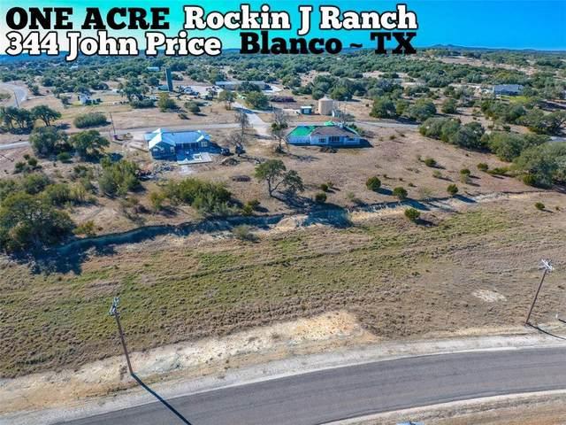 344 John Price, Blanco, TX 78606 (#7898738) :: Papasan Real Estate Team @ Keller Williams Realty