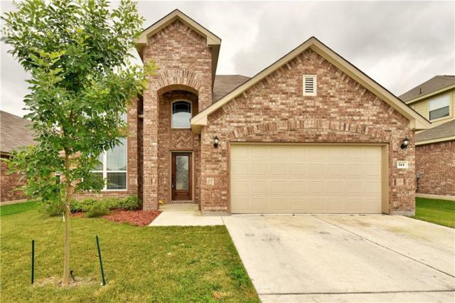 144 Plantain Dr, Hutto, TX 78634 (#7935461) :: The Perry Henderson Group at Berkshire Hathaway Texas Realty