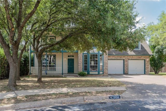 1804 Foxfire Cv, Round Rock, TX 78681 (#7956489) :: The Heyl Group at Keller Williams