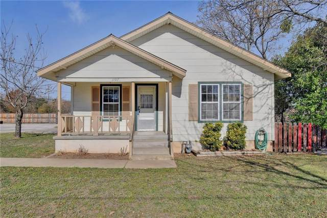 1107 E 7th St, Georgetown, TX 78626 (#8011536) :: The Perry Henderson Group at Berkshire Hathaway Texas Realty