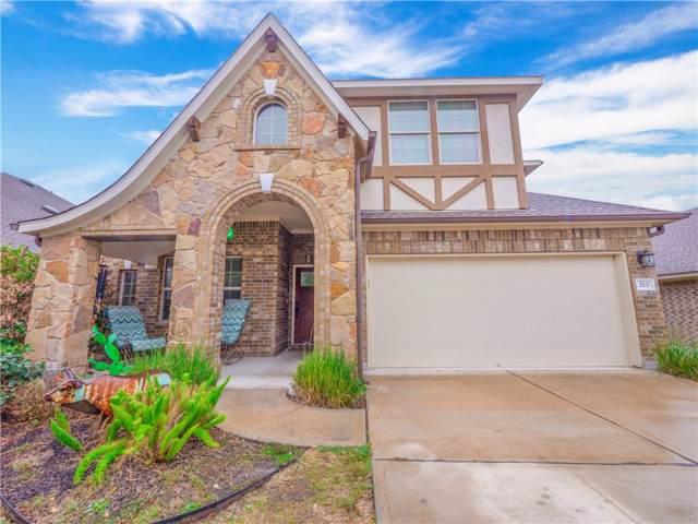 213 Lismore St, Hutto, TX 78634 (#8019199) :: The Perry Henderson Group at Berkshire Hathaway Texas Realty