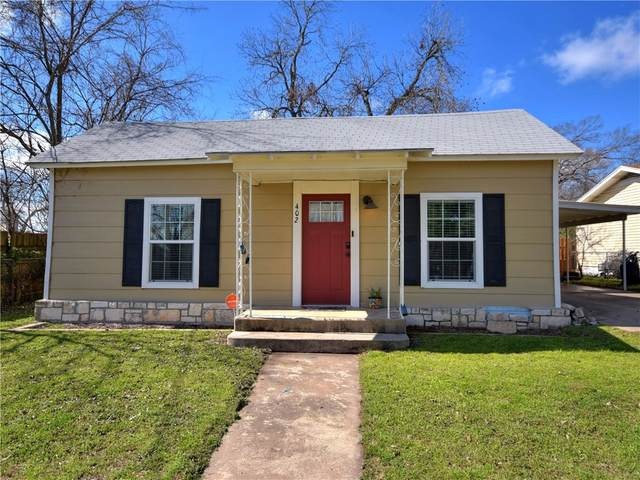 402 S Pierce St, Burnet, TX 78611 (#8059603) :: Ben Kinney Real Estate Team