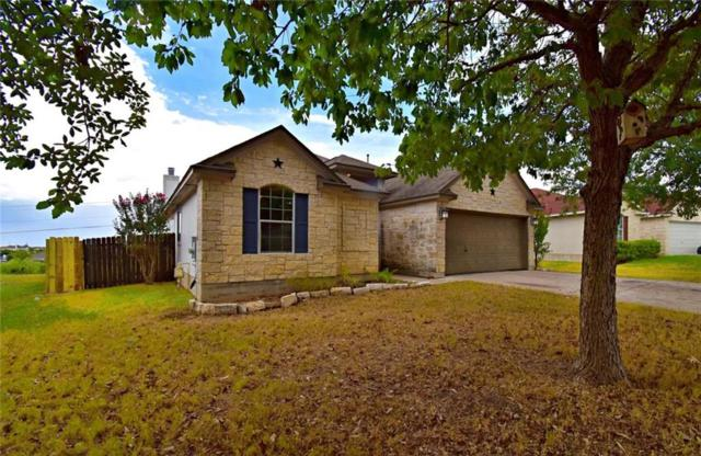 310 Dana Dr, Hutto, TX 78634 (#8100277) :: Van Poole Properties Group