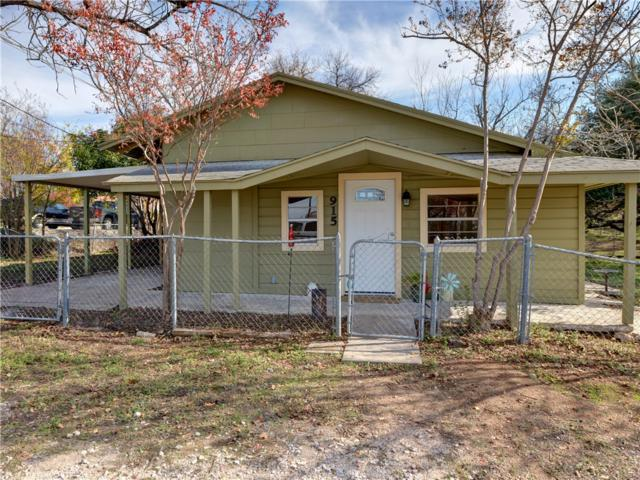 915 Avenue G, Marble Falls, TX 78654 (#8104415) :: The ZinaSells Group