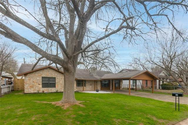 605 Laurel St, Bastrop, TX 78602 (#8161618) :: Front Real Estate Co.