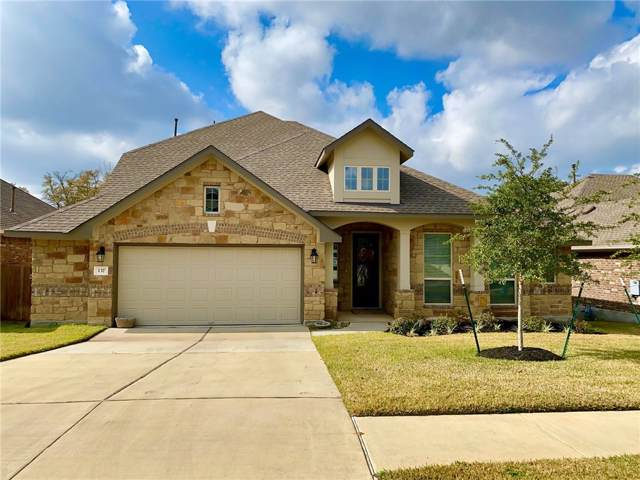 137 Kirkhill St SE, Hutto, TX 78634 (#8179698) :: The Perry Henderson Group at Berkshire Hathaway Texas Realty