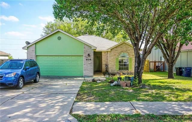 606 Morning Dove Dr, Hutto, TX 78634 (#8182154) :: Papasan Real Estate Team @ Keller Williams Realty