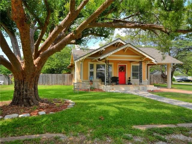 215 W Moeller St, Bertram, TX 78605 (#8185721) :: Sunburst Realty