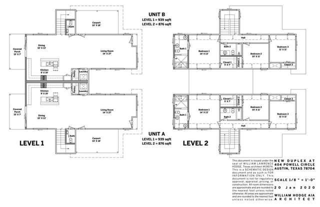 404 Powell Cir, Austin, TX 78704 (#8228743) :: Lauren McCoy with David Brodsky Properties