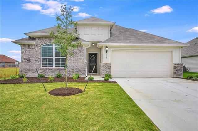 504 Hendelson Ln, Hutto, TX 78634 (#8237775) :: Ben Kinney Real Estate Team