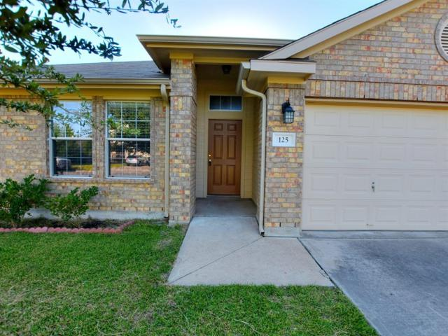 125 Gainer Dr, Hutto, TX 78634 (#8246696) :: Watters International