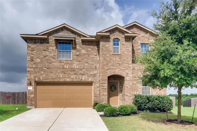 213 Dowdy Cv, Hutto, TX 78634 (#8252341) :: Papasan Real Estate Team @ Keller Williams Realty
