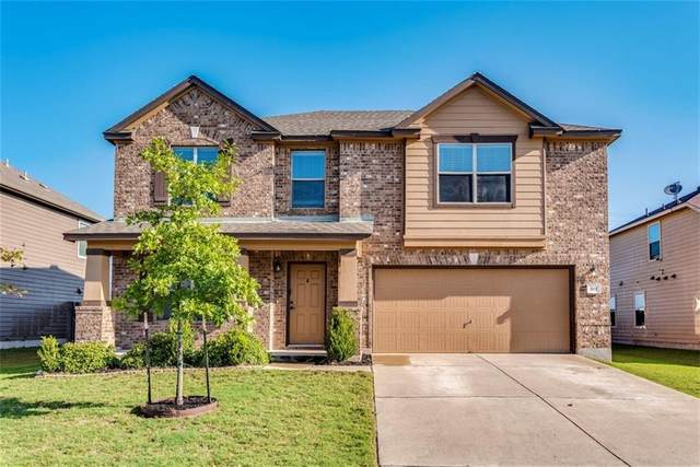 502 Carrington St, Hutto, TX 78634 (#8280266) :: Front Real Estate Co.