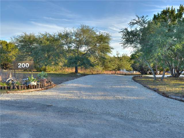 200B Homestead Ln, Dripping Springs, TX 78620 (#8331905) :: The Perry Henderson Group at Berkshire Hathaway Texas Realty