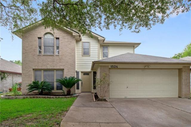 1534 Arusha St, Round Rock, TX 78664 (#8401853) :: Lancashire Group at Keller Williams Realty
