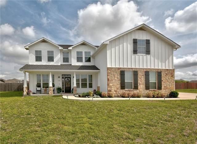 104 W Doucet Cv, Hutto, TX 78634 (#8424400) :: Papasan Real Estate Team @ Keller Williams Realty