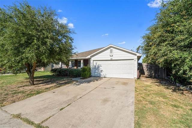 103 Lightfoot Ct, Hutto, TX 78634 (#8444556) :: ONE ELITE REALTY