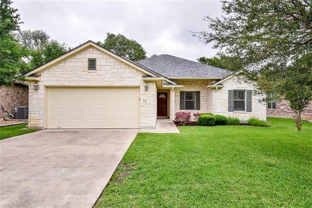 711 Algerita Dr, Georgetown, TX 78628 (#8450772) :: Realty Executives - Town & Country