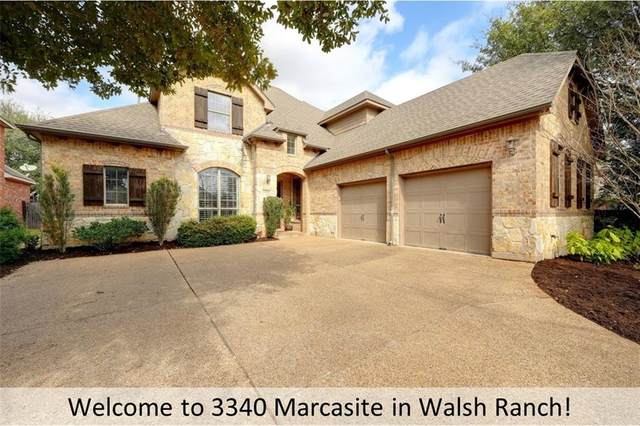 3340 Marcasite Dr, Round Rock, TX 78681 (#8510743) :: Zina & Co. Real Estate