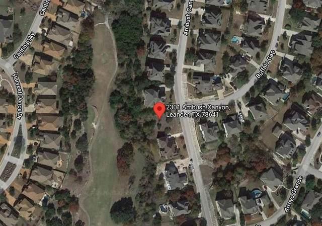 2301 Ambush Canyon, Leander, TX 78641 (#8549190) :: The Myles Group | Austin