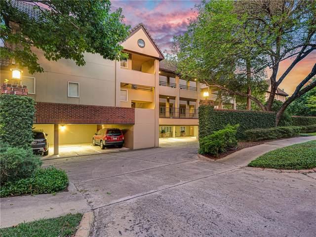 1201 Castle Hill St #105, Austin, TX 78703 (#8562134) :: Watters International