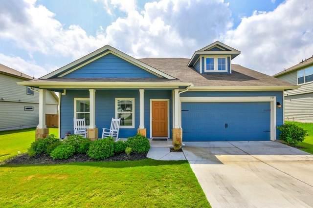 709 Liard River Rd, Hutto, TX 78634 (#8606915) :: Service First Real Estate