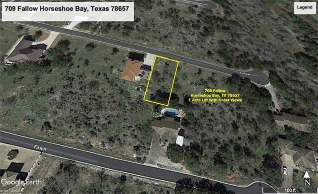 709 Fallow, Horseshoe Bay, TX 78657 (#8624272) :: The ZinaSells Group