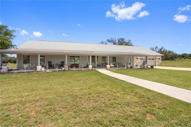129 Comanche Ridge, Round Mountain, TX 78663 (#8629684) :: Papasan Real Estate Team @ Keller Williams Realty