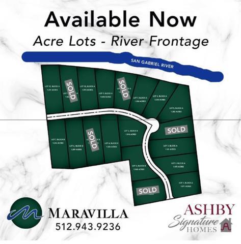 9A Maravilla, Georgetown, TX 78633 (#8630432) :: RE/MAX Capital City