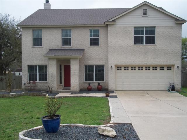 599 Bella Vista Cir, Kyle, TX 78640 (#8651254) :: Ana Luxury Homes