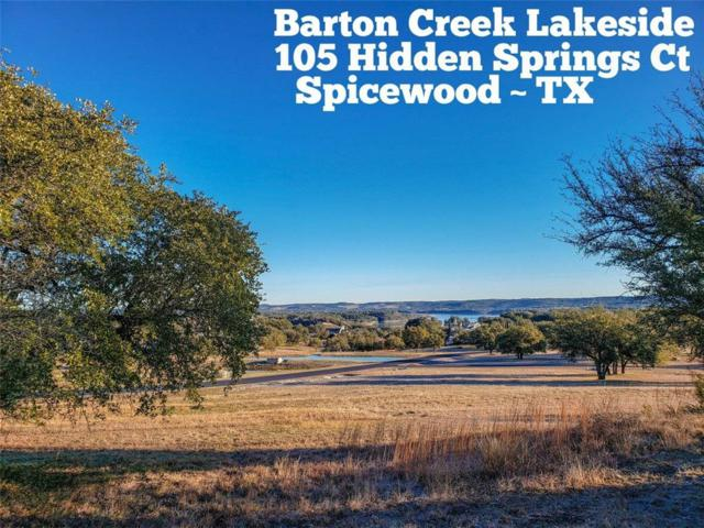 105 Hidden Springs Ct, Spicewood, TX 78669 (#8656032) :: The Perry Henderson Group at Berkshire Hathaway Texas Realty