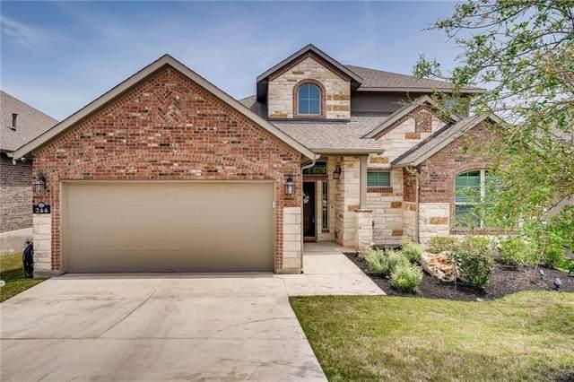 244 Cross Mountain Trl, Georgetown, TX 78628 (#8798323) :: Azuri Group | All City Real Estate