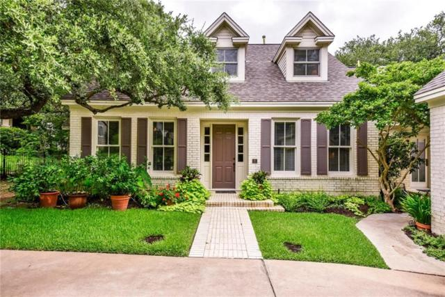 2808 Montebello Rd #8, Austin, TX 78746 (#8828513) :: The Perry Henderson Group at Berkshire Hathaway Texas Realty