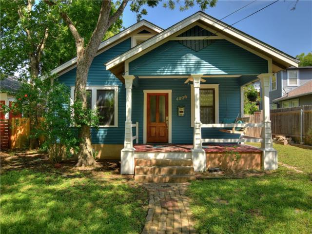 4806 Avenue H, Austin, TX 78751 (#8865288) :: Watters International