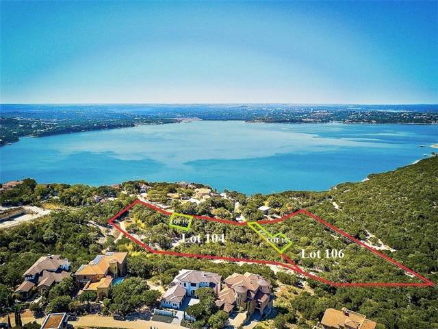 104 and 106 Comanche Trl, Austin, TX 78732 (#8918668) :: The Heyl Group at Keller Williams