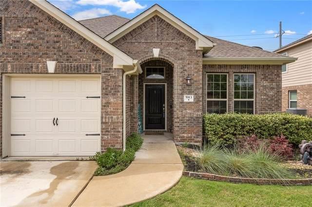 5913 Mantalcino Dr, Round Rock, TX 78665 (MLS #8973752) :: Green Residential