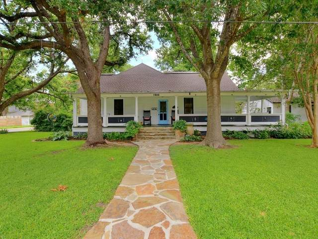 1503 S Elm St, Georgetown, TX 78626 (#8976272) :: Ben Kinney Real Estate Team