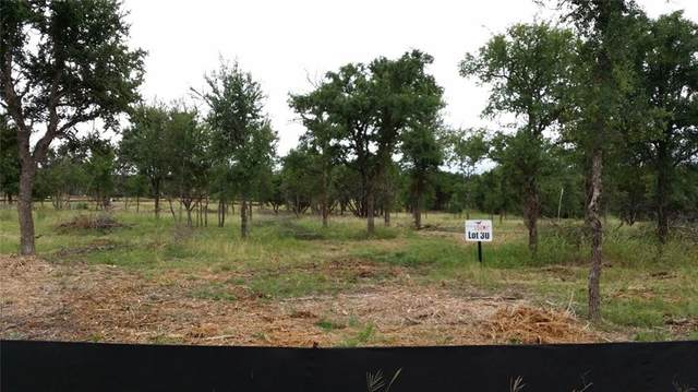 LOT 30 Trophy Oak Trl, Marble Falls, TX 78654 (#8977087) :: The Summers Group