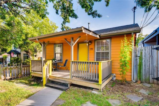 711 Jewell St A, Austin, TX 78704 (#9059837) :: The Perry Henderson Group at Berkshire Hathaway Texas Realty