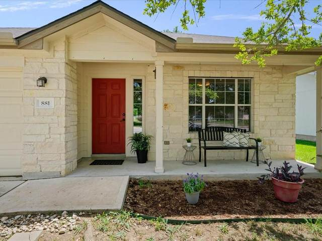 881 Goldenrod St, Kyle, TX 78640 (#9078065) :: Papasan Real Estate Team @ Keller Williams Realty