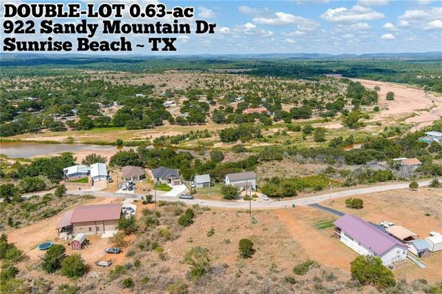 922 Sandy Mountain Dr, Sunrise Beach, TX 78643 (#9185031) :: The Summers Group