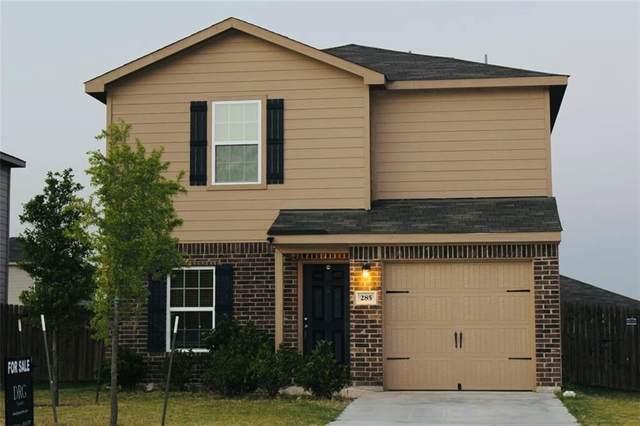 285 Koontz Loop, Jarrell, TX 76537 (MLS #9269270) :: Vista Real Estate