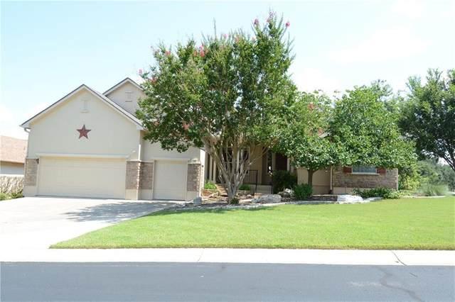 100 Chuckwagon Trl, Georgetown, TX 78633 (#9353163) :: Papasan Real Estate Team @ Keller Williams Realty