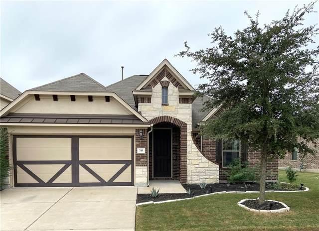 743 Hot Spring Vly, Buda, TX 78610 (#9394479) :: First Texas Brokerage Company