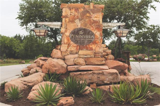 37 Peninsula Dr, Burnet, TX 78611 (#9483918) :: The Perry Henderson Group at Berkshire Hathaway Texas Realty