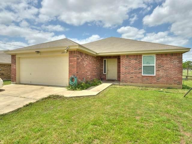 219 South St, Florence, TX 76527 (#9492633) :: Papasan Real Estate Team @ Keller Williams Realty