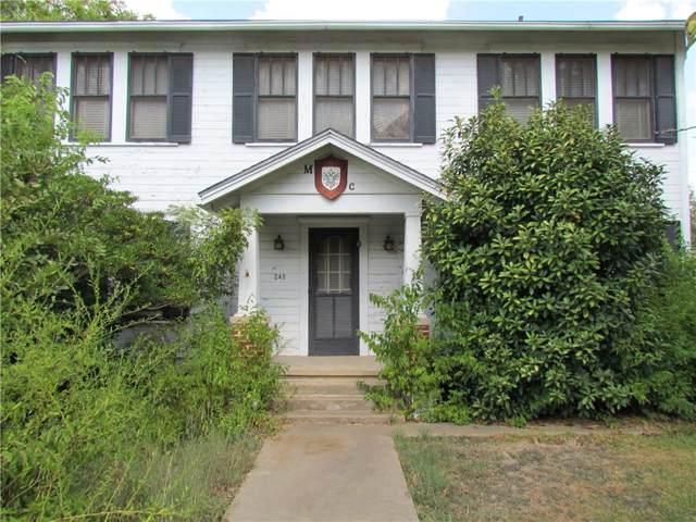 240 W Allen St, Bartlett, TX 76511 (#9602830) :: Papasan Real Estate Team @ Keller Williams Realty