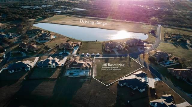 106 Rosespring, Georgetown, TX 78628 (MLS #9645430) :: Vista Real Estate