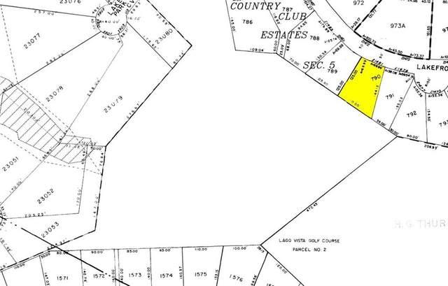 21481 Lakefront Dr, Lago Vista, TX 78645 (#9646844) :: 12 Points Group